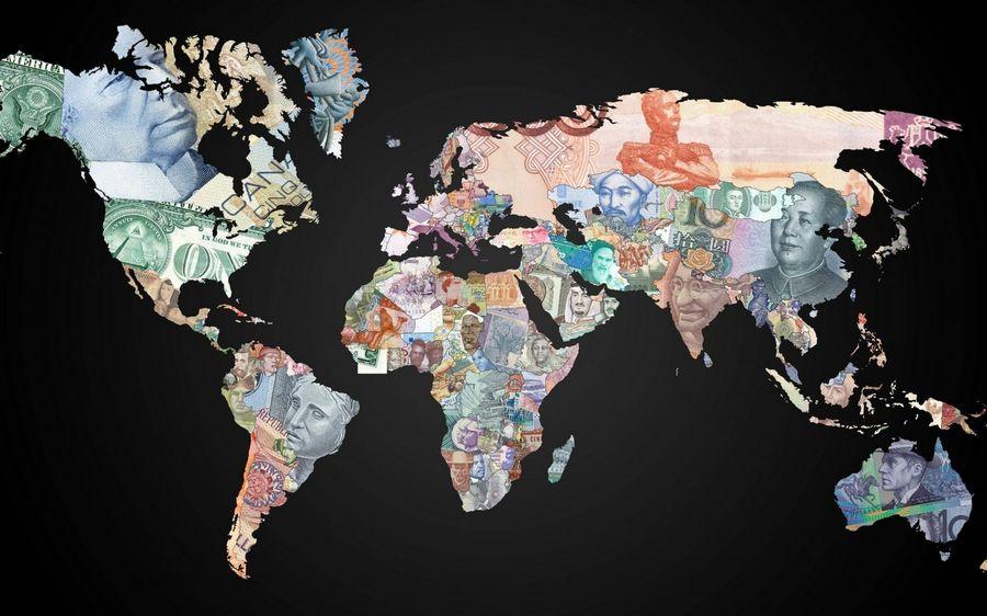 средние зарплаты в странах мира