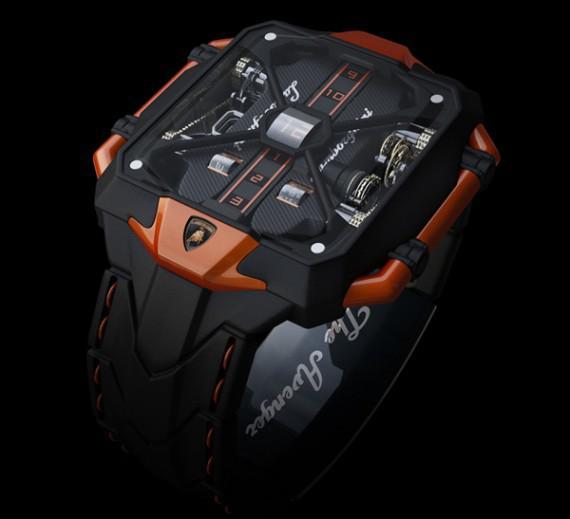 часы с дизайном ламборджини