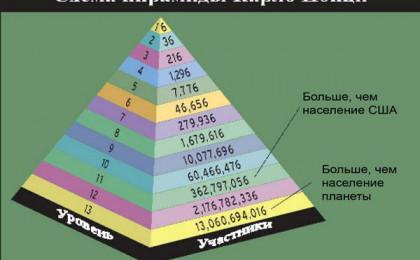 Финансовые пирамиды на Форекс