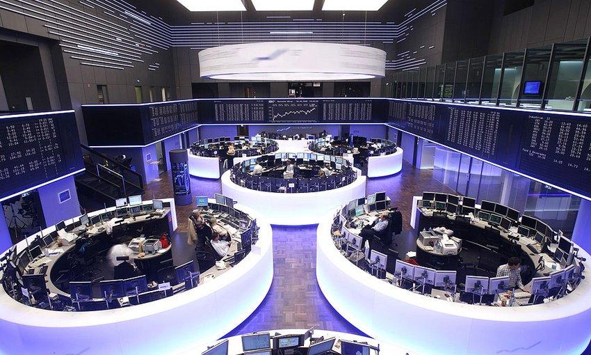 Вид Лондонской фондовой биржи