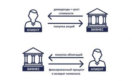 Акции и облигации: сходства и различия