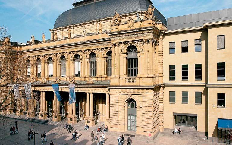 биржа во Франкфурте